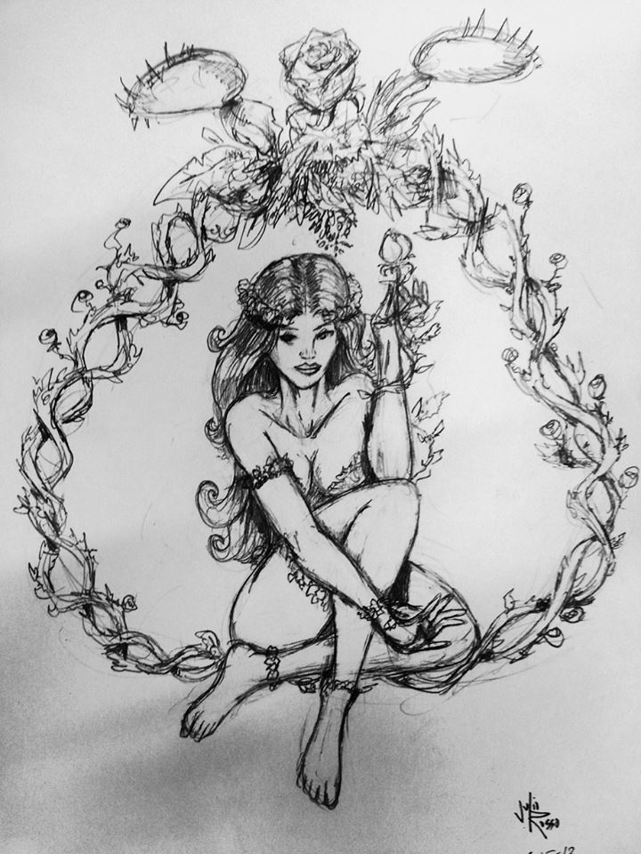 Poison Ivy Sketch
