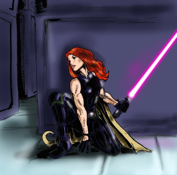 Red Headed Jedi