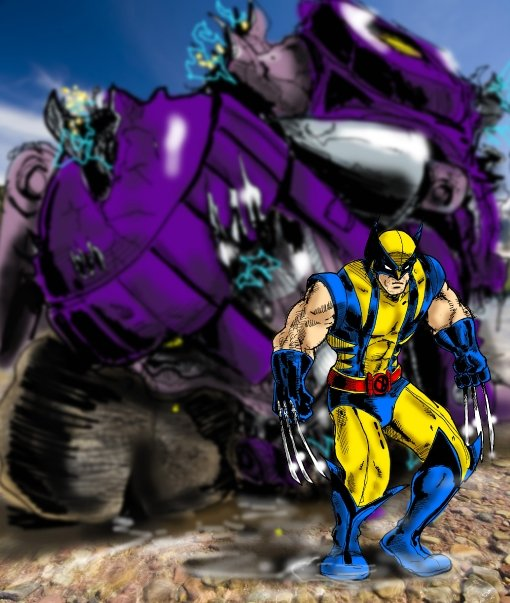 Wolverine and Sentinal